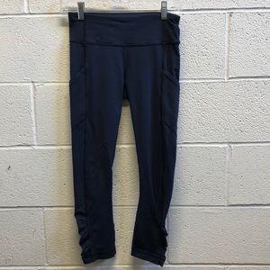 lululemon athletica Pants - Lululemon navy 7/8 legging, sz 4, 61675